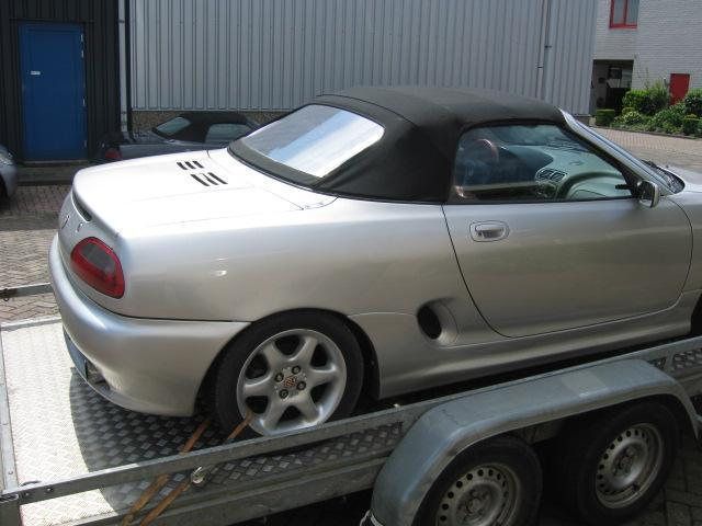 MGF onderdelen nette soft top MG F /MG TF.