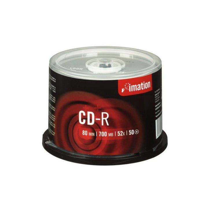 Imation CD-R 80Min/700MB 52x Spindel 50st