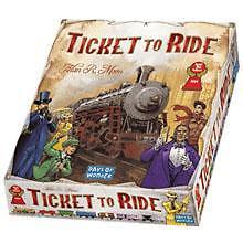 Ticket to Ride basisspellen voor 34.95 december aanbieding