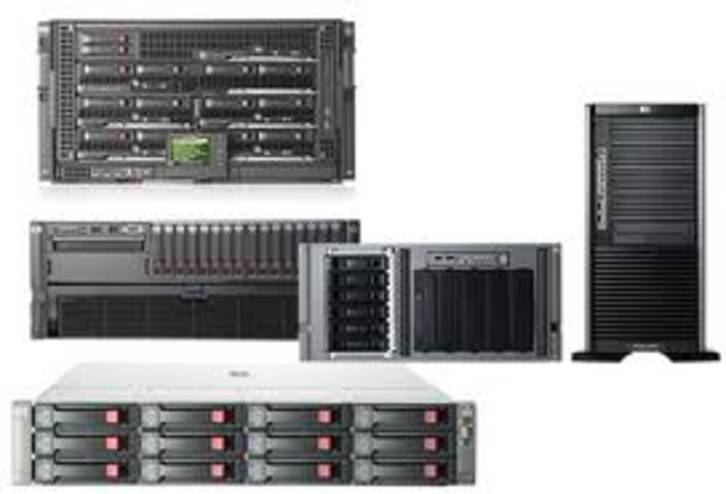 INKOOP : 1 tot 1000 stuks Servers Parts Switches ServerRacks