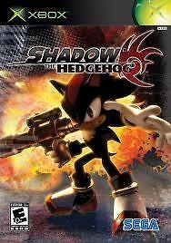 Shadow the hedgehog (xbox used game)