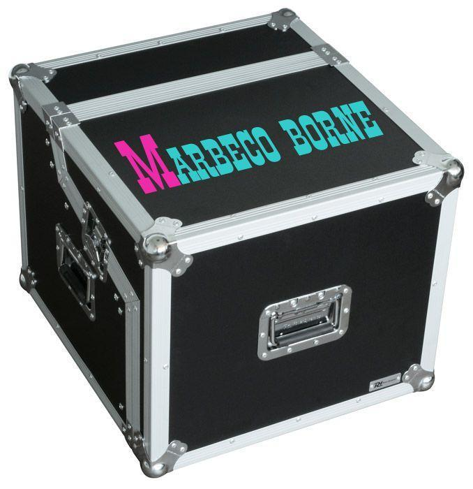 Flightcase, Rack case,DJ systeem case 19 inch, B-verp.
