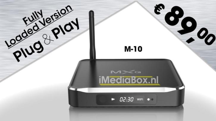 Mediaplayer M-10 € 89.- Fully Loaded !!