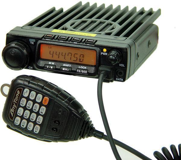 Anytone AT-588 4 Meter Tranceiver 30Watt 66-88 Mhz Nieuw