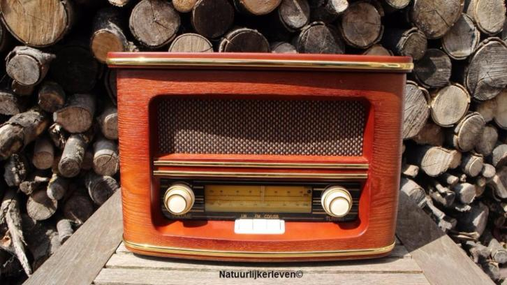 Retro radio met cd, mp3 en usb