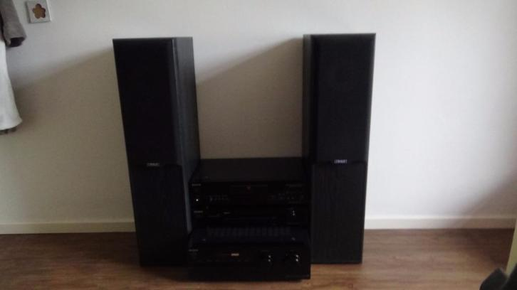 Sony stereo-set met Mission speakers