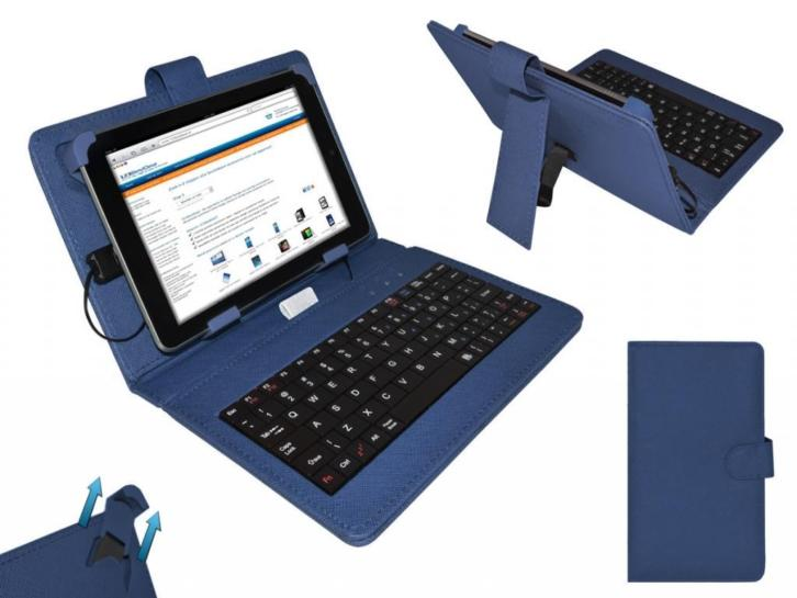 Keyboard Case voor Lenovo Ideatab A5000 Tablet