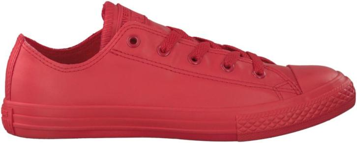 Rode Converse Sneakers CTAS RUBBER OX