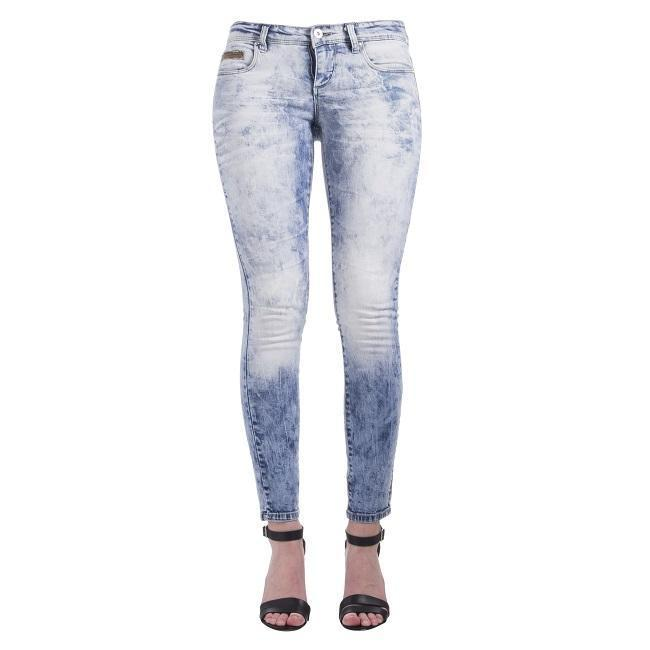 Only Carrie Low Skinny Jeans Medium Dames Jeans Maat 29