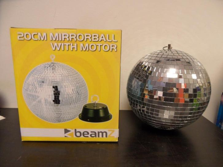 Mirror ball 20cm incl Motor
