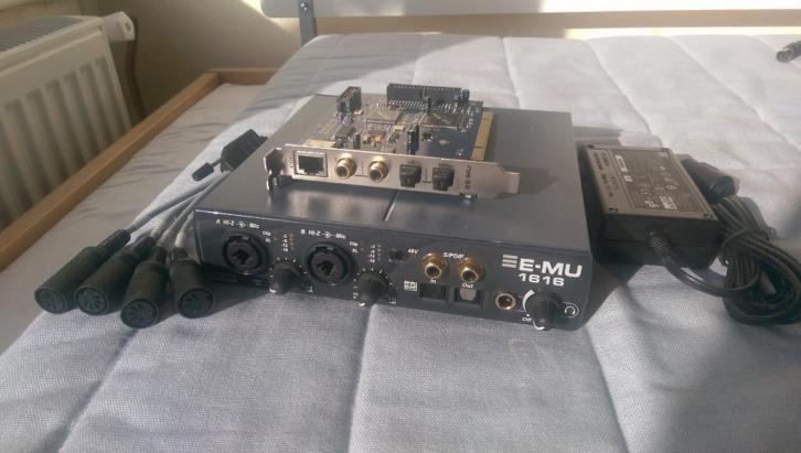 E-MU 1616m digital audio interface