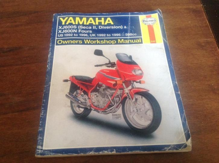 Yamaha XJ600S workshop manual