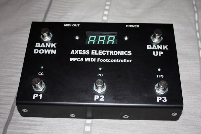 Axess Electronics MFC5 Programmable Midi foot Controller