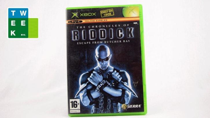 Riddick (Xbox) Morgen in huis! - iDeal!