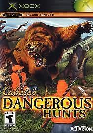 Cabela´s Dangerous Hunts (xbox used game)