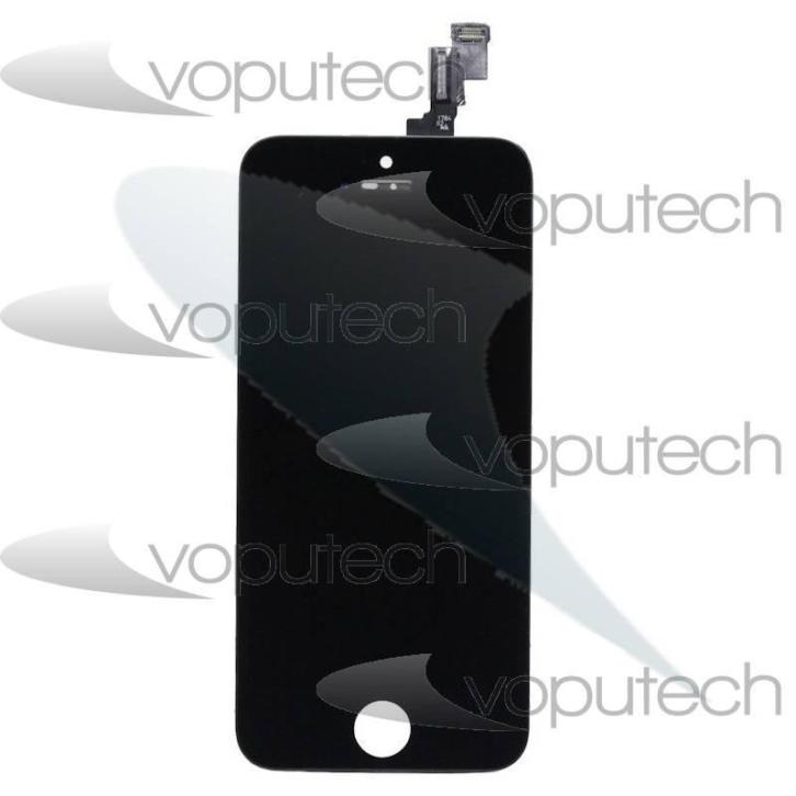 iPhone 5s LCD en Digitizer met Frame Zwart - High Copy Grade