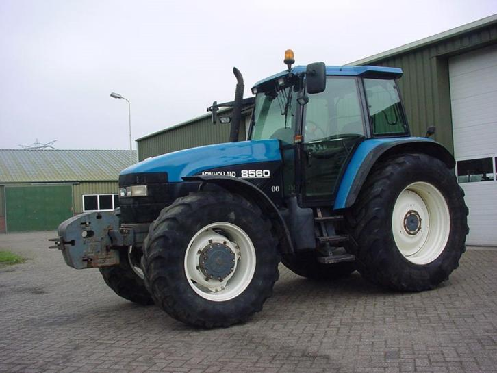 new holland 8560 RC range command
