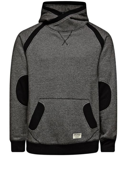 Saxo Sweat Hood Zwart