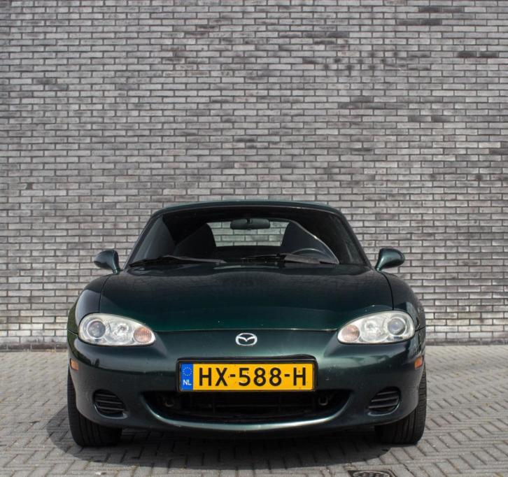 Mazda MX-5 MX5 1.6i Exclusive 2001 NBFL groen metallic