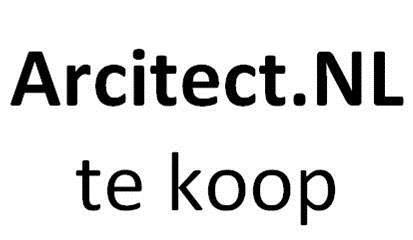 Arcitect.NL Dutch Arcitect Domeinnaam te koop voor architect