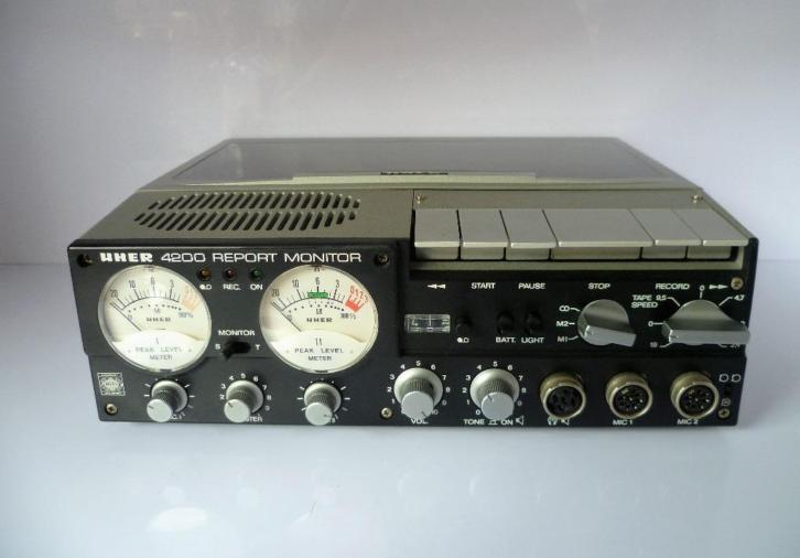 Uher 4200 report monitor portable bandrecorder
