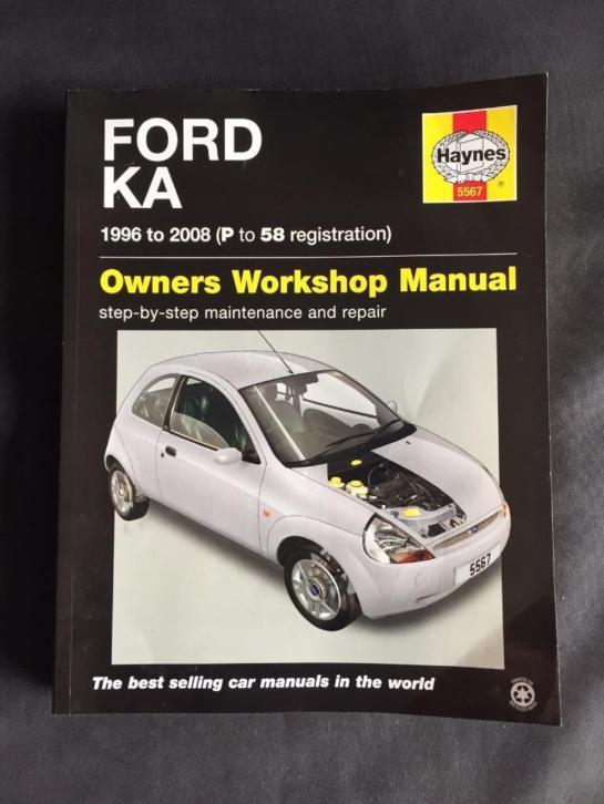 Ford Ka Haynes Owners Workshop Manual