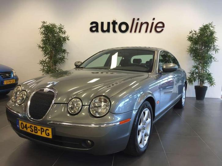Jaguar S-type 3.0 V6 iDition Dealer O.H, 1e Eig. Leder, Navi