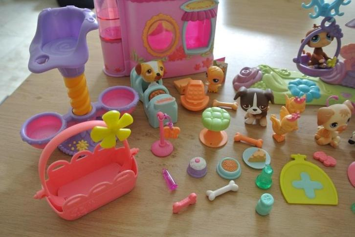 Groot speelset Little Petshop Pet Shop heel veel
