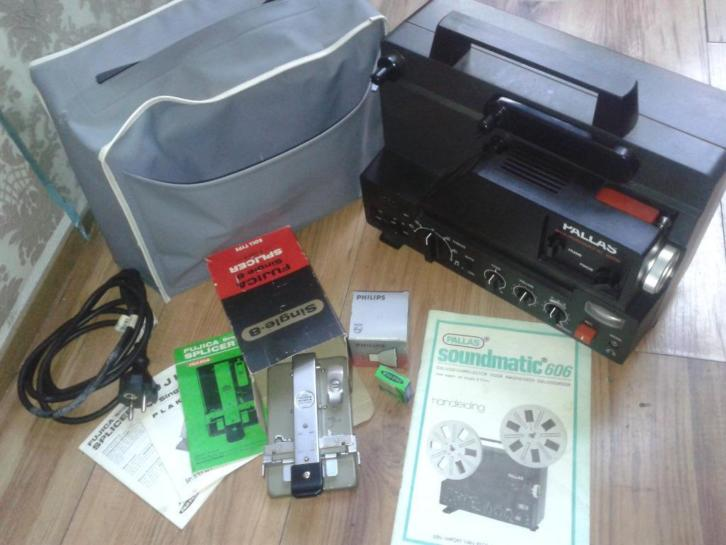 Super8 projector met geluid Pallas Soundmatic 606