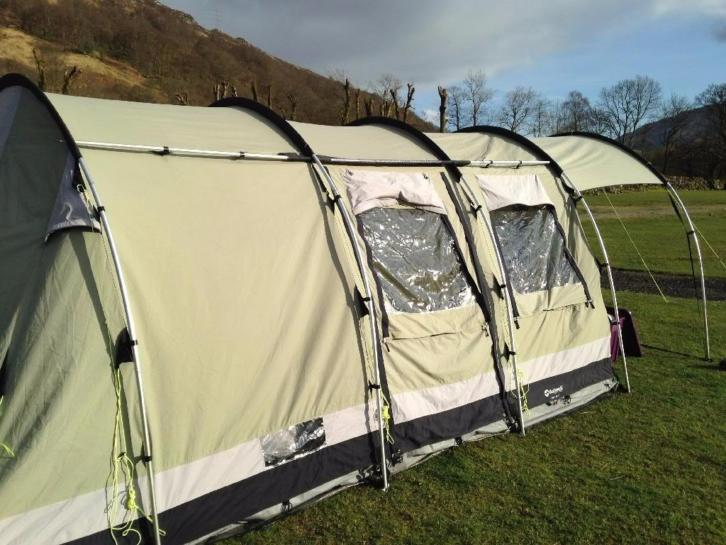 Outwell Bear Lake 4, Tunneltent 4 personen