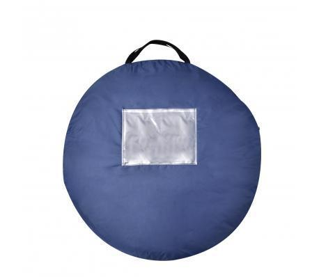 Pop-up tent 2 personen marineblauw / lichtblauw