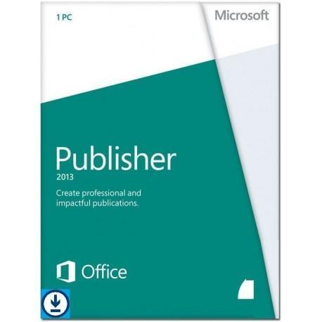 Microsoft Publisher 2013 32/64 bit Windows NL 1 license for