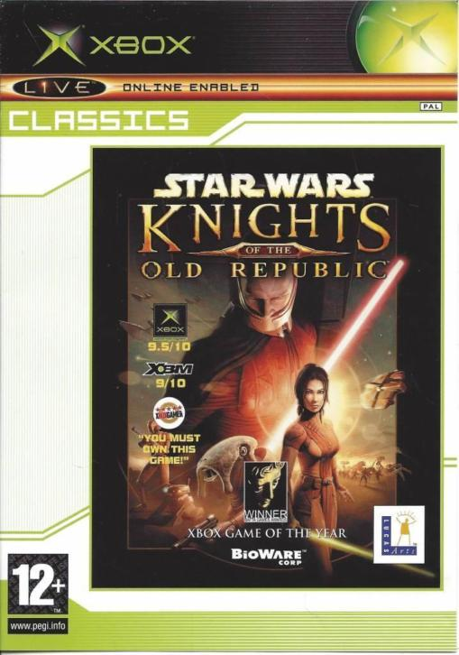 STAR WARS KNIGHTS OF THE OLD REPUBLIC voor Xbox