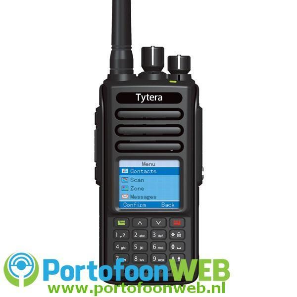 TYTERA MD-390 DMR GPS UHF Tier2 FPP 5Watt IP67 Waterdicht