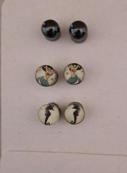 tunnels plugs 8 mm