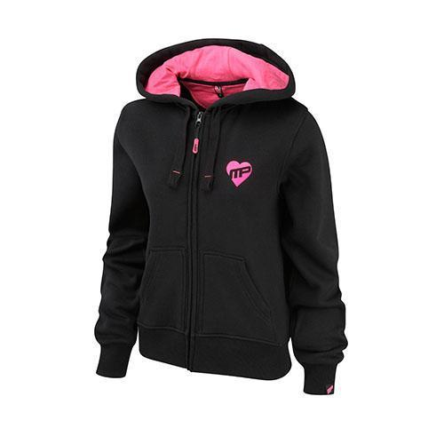 MusclePharm Sportswear Womens Full Zip Hooded Strong Is T...