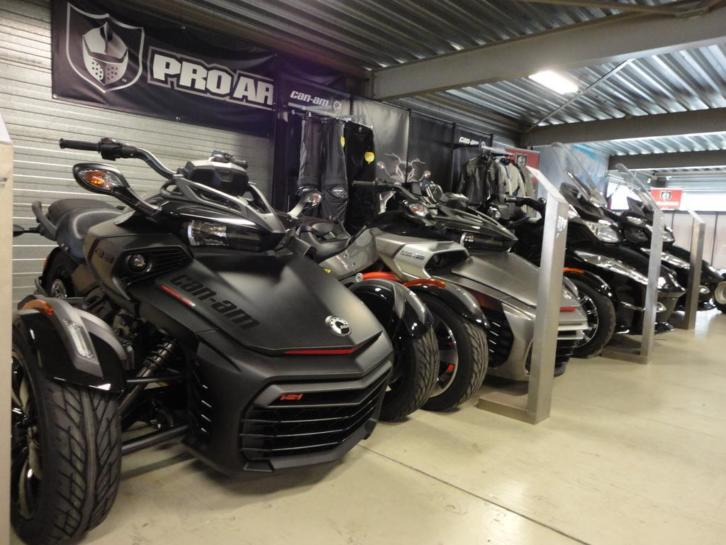 Can-Am SPYDER® - diverse modellen - Official Dealer - QFF