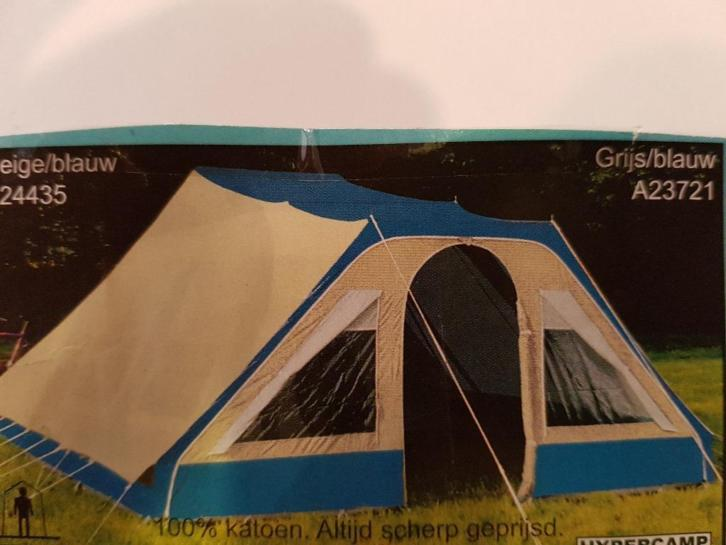 MPH 1940-1 Hypercamp 4-persoons pyramide tent 360x515 cm