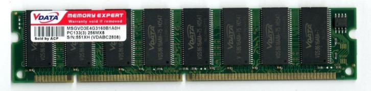 256 mb dimm sd-ram pc-133