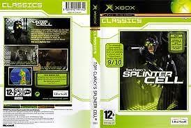 Tom Clancy´s Splinetr (let op de spelfout hier!) (xbox us...