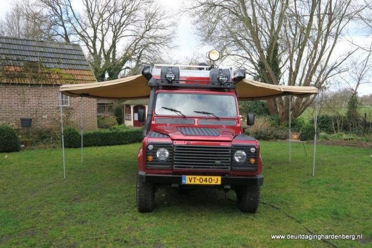 Defender Landrover Foodtruck