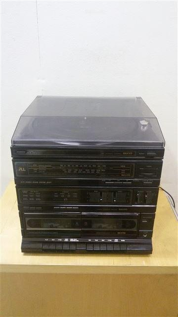 Complete Sanyo stereo met boxen