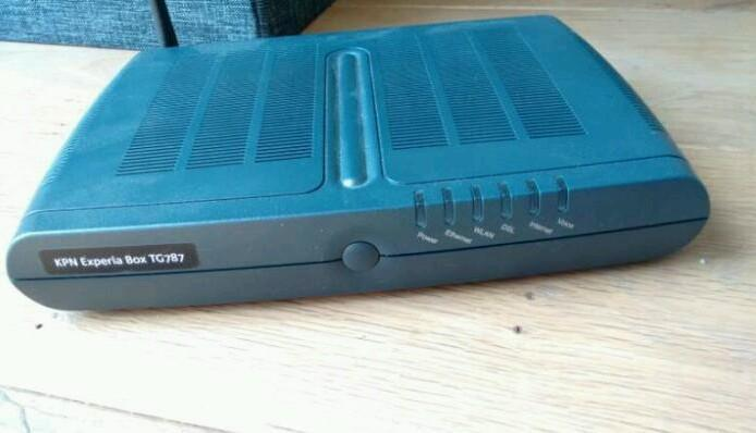KPN Experiabox Thomson TG787 ADSL/V DSL modem/router