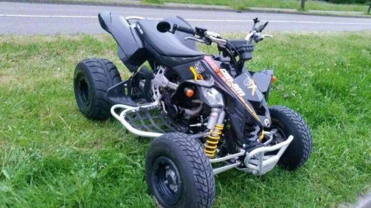Can am ds 450 x met kenteken