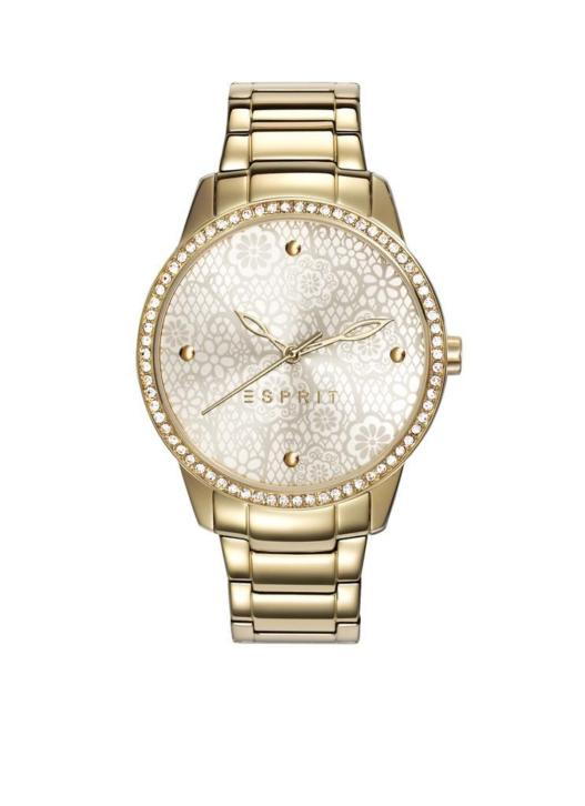 Esprit Time dameshorloge Secret Garden Gold ES108882002