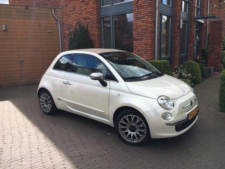 Fiat 500 0.8 Dualogic C 2013 Wit