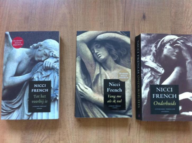 Nicci French 3 x voor € 7,50