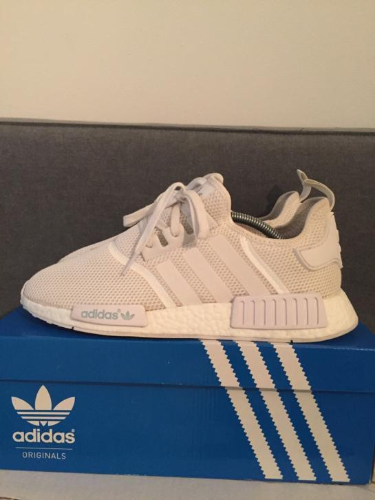 Adidas NMD 44,5 boost R1 runner wit white monochrome pack