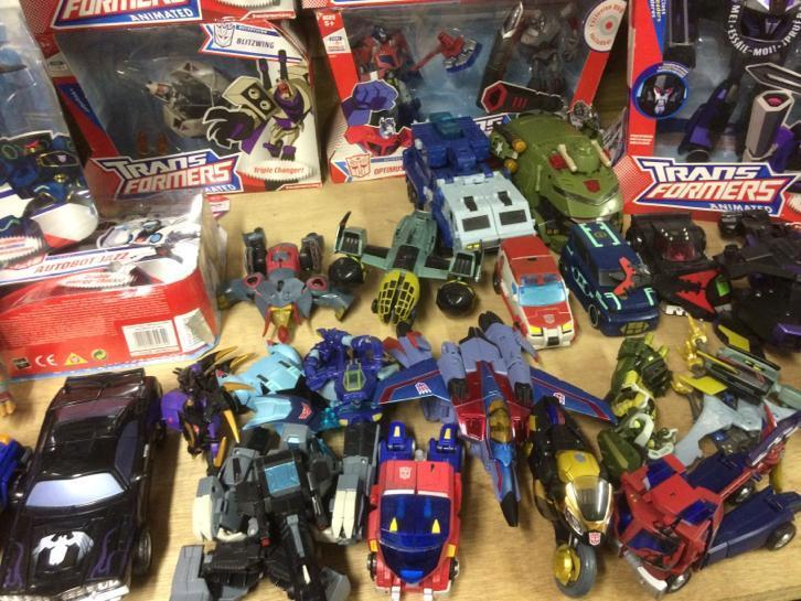 Transformers ANIMATED Lot €200
