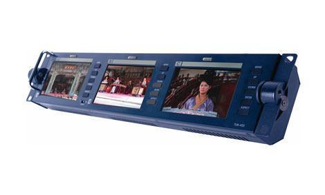 DataVideo TLM-433 TFT LCD Monitor Bank 3x 4,3 Inch